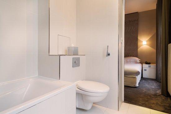Hotel Chambellan Morgane : Chambre double