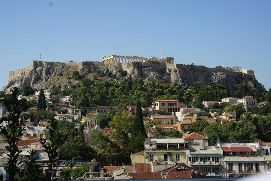 Plaka Hotel: view