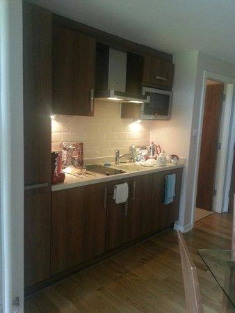Whitbarrow: The kitchen area