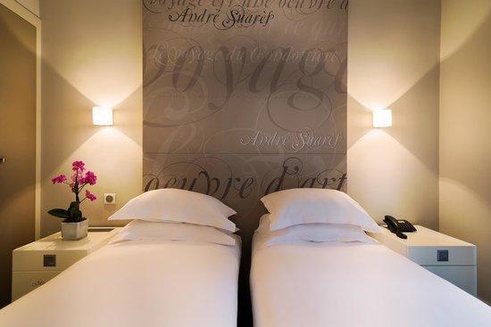 Hotel Chambellan Morgane : Chambre Twin