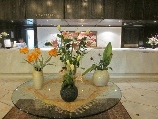 Creta Star Hotel : La réception