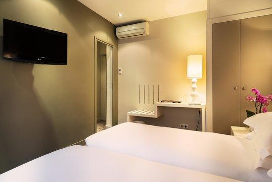 hotel chambellan morgane updated 2017 prices reviews paris france tripadvisor. Black Bedroom Furniture Sets. Home Design Ideas