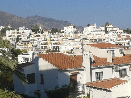 Hotel Villa Flamenca: View from roof terrace