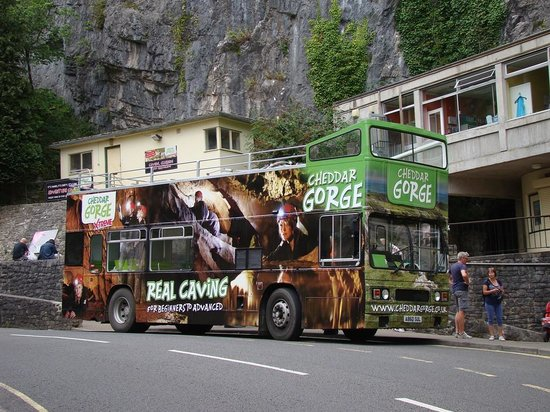 Cheddar Caves & Gorge: Bus