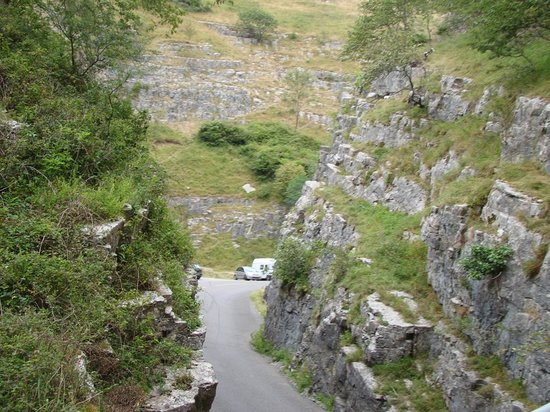 Cheddar Caves & Gorge: Gorge