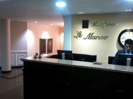 Hotel Le Manoir Bogota: Recepción