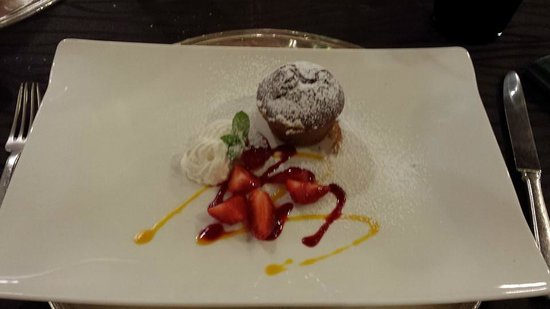 Hotel Castello Lake Front: Dessert demi-pension gourmet