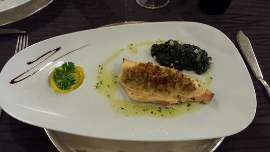 Hotel Castello Lake Front: Second plat demi-pension gourmet