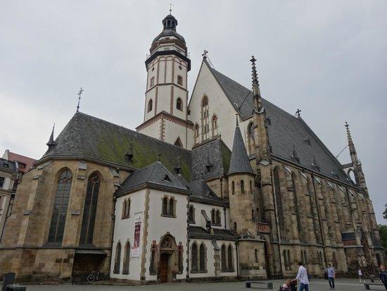 St. Thomas Church (Thomaskirche): La Thomaskirche di Lipsia