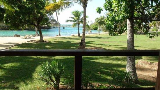InterContinental Moorea Resort & Spa: Notre vue de la chambre