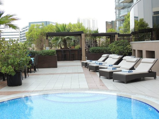 Majestic Hotel Tower : Pool-Terrasse