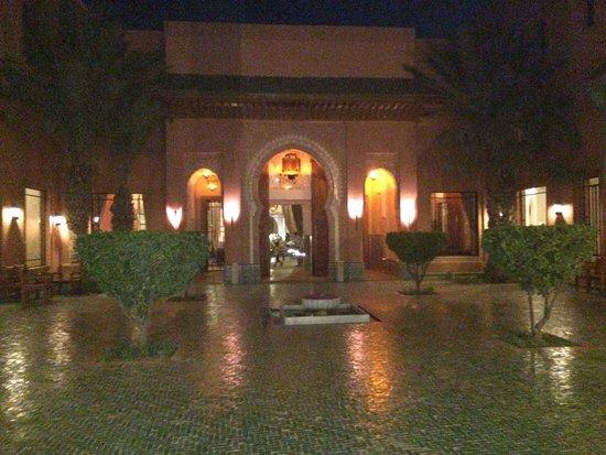 Hotel Les Jardins de l'Agdal: L'entrée de l'hôtel
