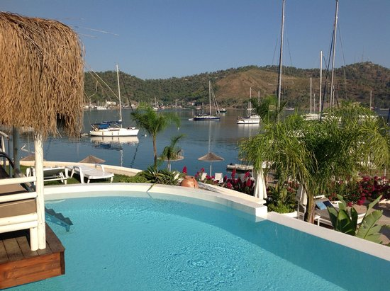 Yacht Classic Hotel: View from Villa