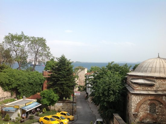 Eternity Boutique Hotel : View from the room's window