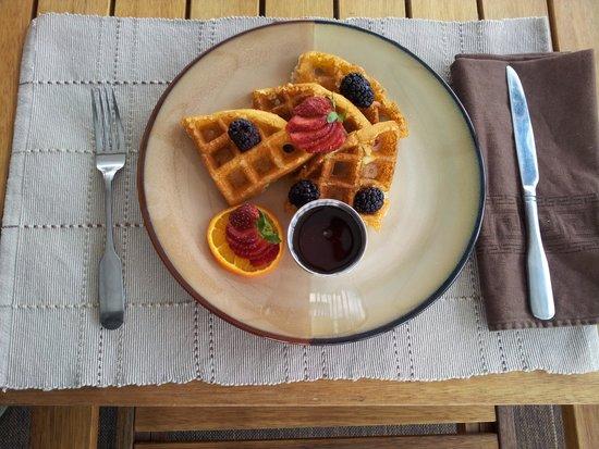 Making Waves Boatel: Breakfast Waffles