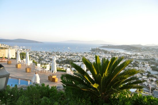 The Marmara, Bodrum : View from the restaurant