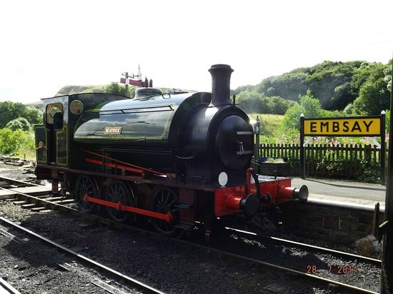 Embsay & Bolton Abbey Steam Railway: Beatrice takes the passengers on a trip from Embsay