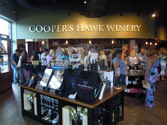 Cooper's Hawk Winery & Restaurants: entrance