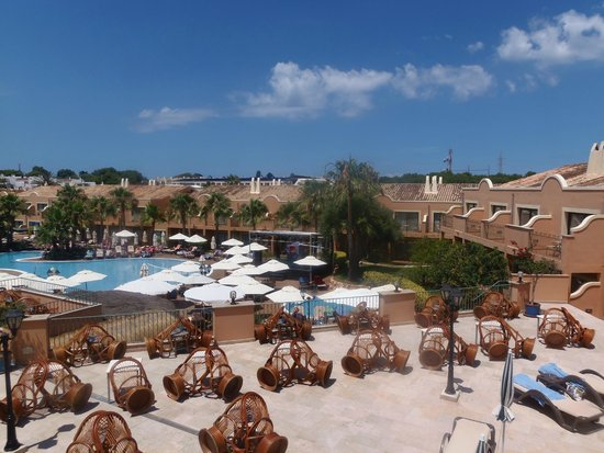 Valentin Star Hotel: Balcony view