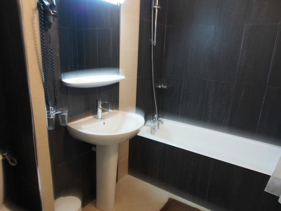 Paris France Hotel: bath room