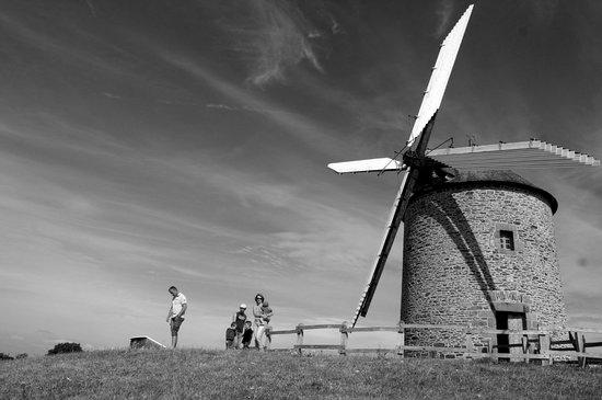 Le Moulin de Moidrey : exterieur