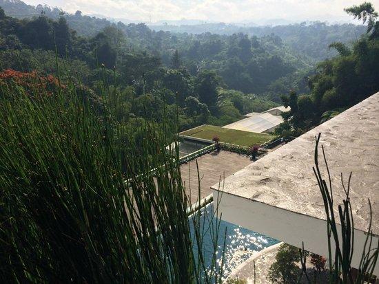 Padma Hotel Bandung: View from restaurant