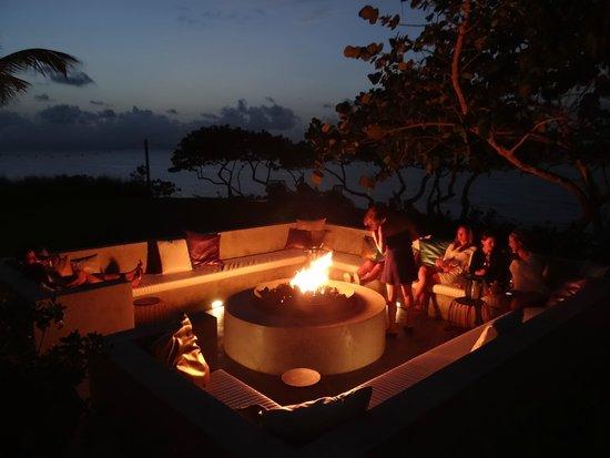 W Retreat & Spa Vieques : Firepit