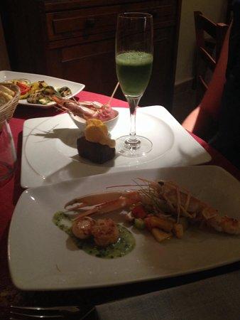 La Taverna Babale: Creazione a base di pesce dello chef