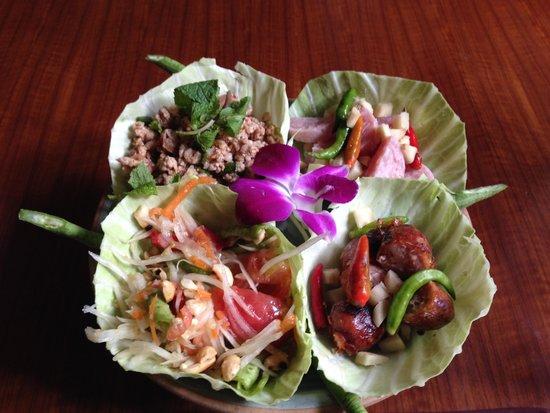Tongue Thai: 4種類の味