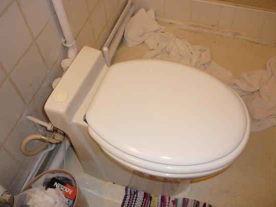 Hotel des Arcades : Die Toilette