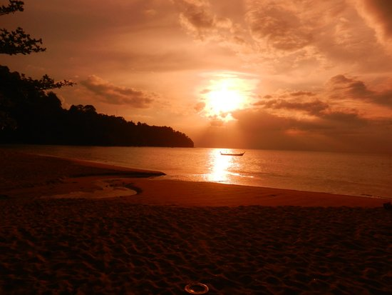 Khaolak Bayfront Resort Hotel Khao Lak: Sonnenuntergang