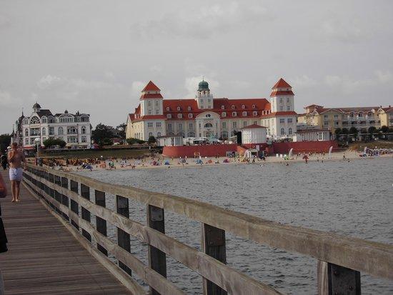 Landhotel Rugen: Auf der Seebrücke