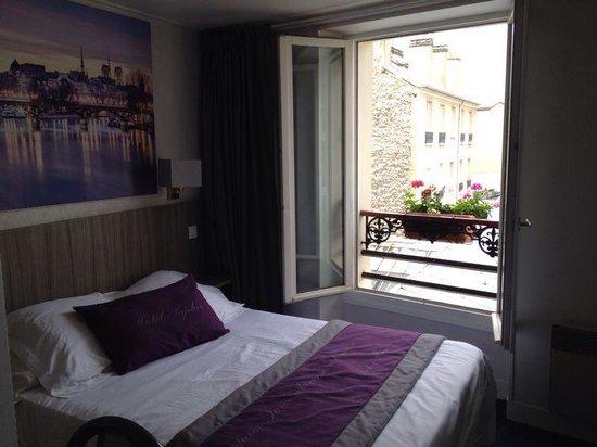 Saphir Grenelle Hotel: stanza 411, doppia