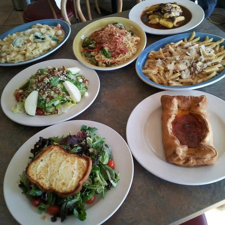 Gaston's French American Bistro : Just a few items