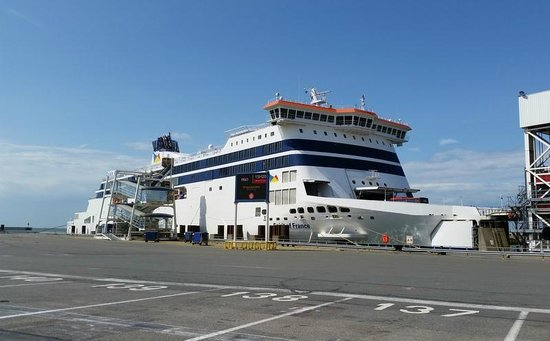 P&O Ferries - Day Trips : At Calais Port.