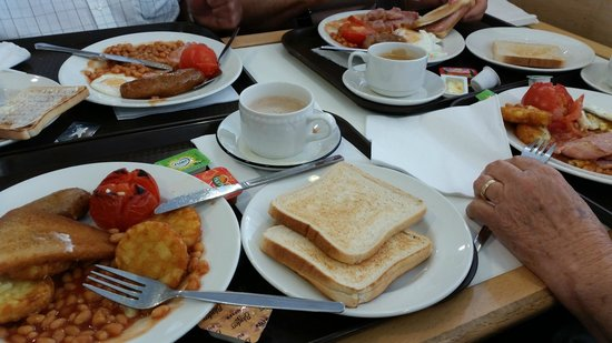 P&O Ferries - Day Trips : English Breakfast at P&O ferry.