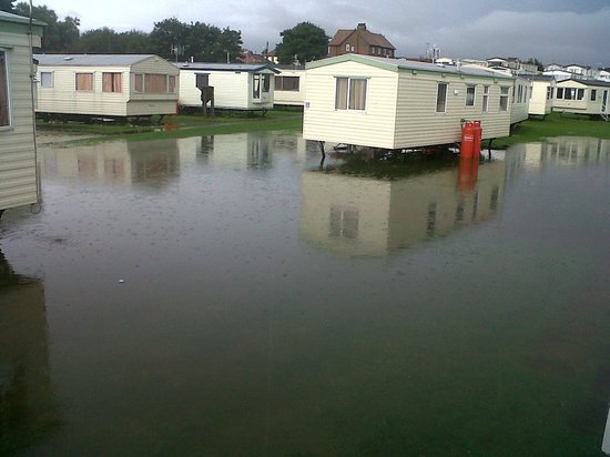 Cayton Bay Holiday Park - Park Resorts: Drainage proved to be a bit of a problem!