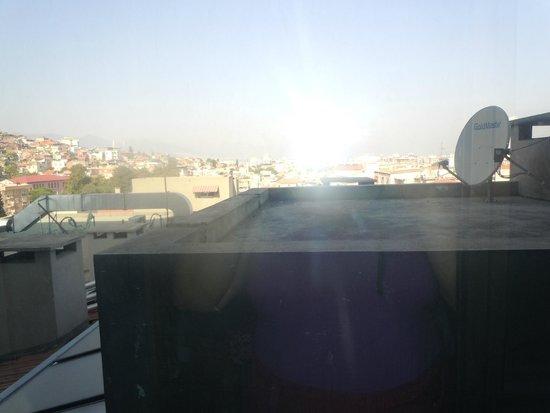 Aksan Hotel: vista dalla camera all'8 piano