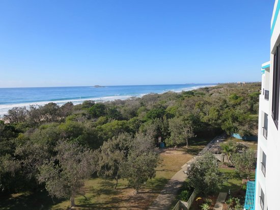 San Marino by the Sea: View towards Maroochydore