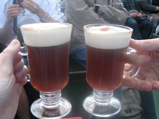 Corrib Princess River Cruise : Irish Coffee