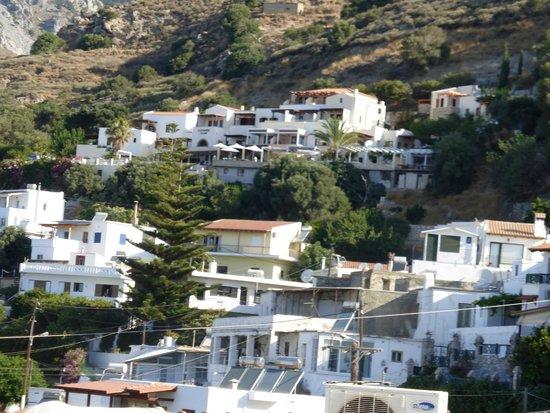AnnaView Apartments : uitzicht op Myrthios
