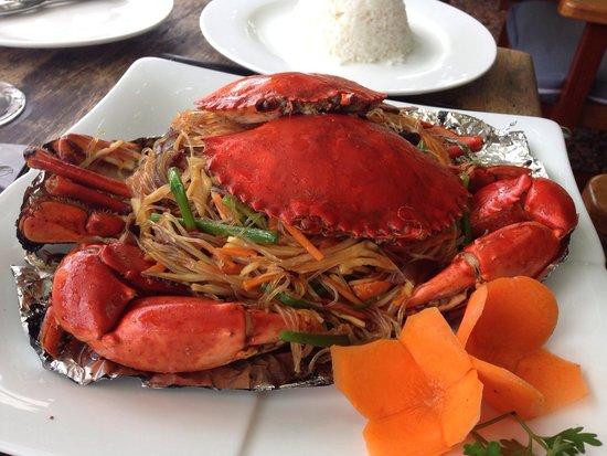 Veranda Natural Resort: Lunch! Kep crab