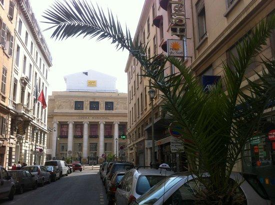 Hotel du Sud : Opéra de Marseille, rue Beauvau