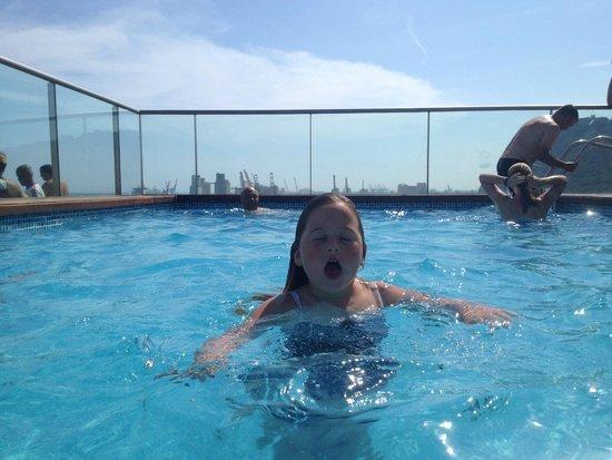 Eurostars Grand Marina Hotel : Roof top pool; small but fun!