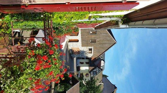 Hotel Haut-Koenigsbourg: Kleiner Balkon