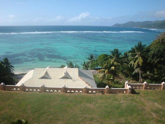 Au Fond de Mer View: Was für ein Blick auf die Anse Royale