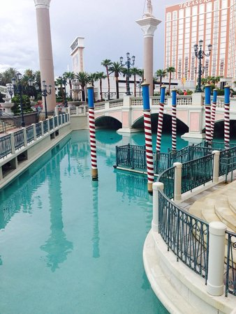 The Venetian Las Vegas: Outside Gondolas