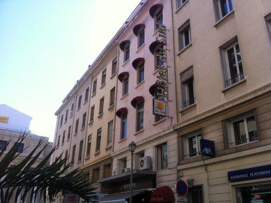 Hotel du Sud : Façade Hôtel du Sud