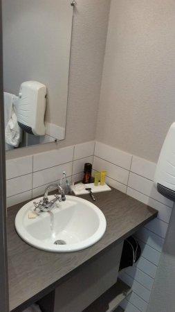 Hotel Haut-Koenigsbourg: Neue Dusche
