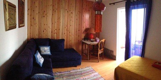 Quinta dos Bravos: Private living area